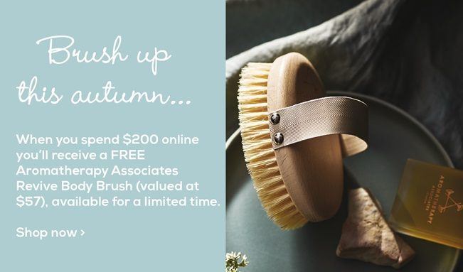 When you spend $200 online you'll receive a FREE 